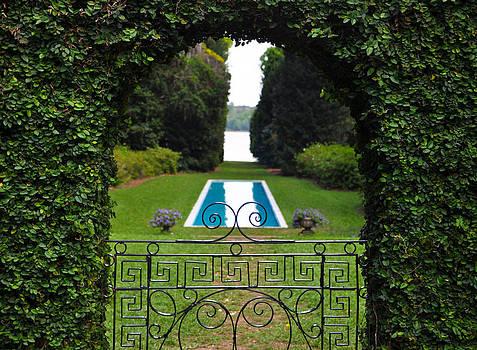 Maclay Gardens Gate by Alex Owen