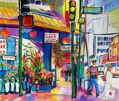 Macys Bag in ChinaTown Honolulu by Therese Fowler-Bailey