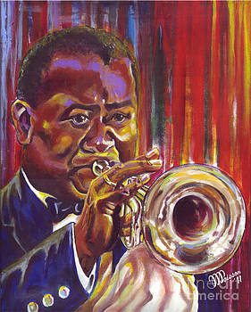 Macys Jazz. Louis Armstrong by Jean-Marie Poisson