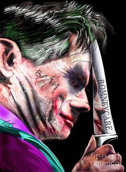 Mad Men Series 2 of 6 - Romney the Joker by Reggie Duffie