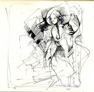Madame Coming by Ertan Aktas