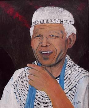 Madiba the King - Nelson Mandela by Jeanne Silver