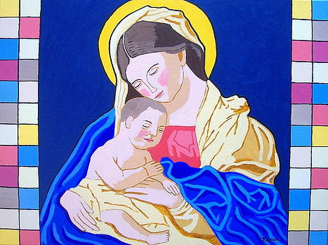 Madonna and Child by Eamon Reilly