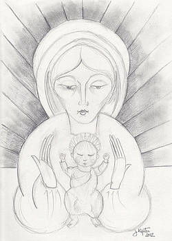 Madonna and Child by John Keaton