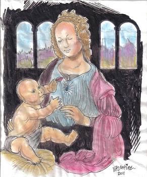 Madonna and Child by Mike Valentine