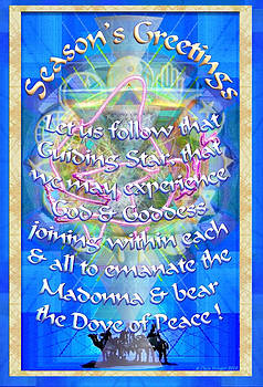 Madonna Dove Chalice-Synthesis and Logos with text by Christopher Pringer