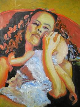 Madonna with a Child by Anna Kowalewicz