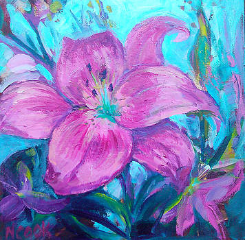 Magenta Lily by Nanci Cook