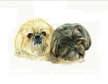 Maggie and Gizmo by Deb Gardner