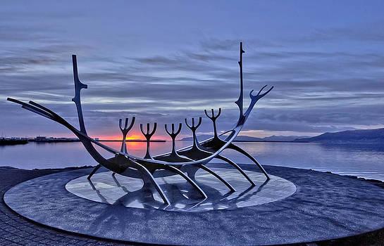 magic hour in Reykjavik by Stephanie Benjamin