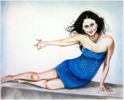 Magical Blue by Rafath Khan