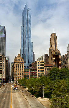 Magnificent Mile Chicago by Slava Shamanoff