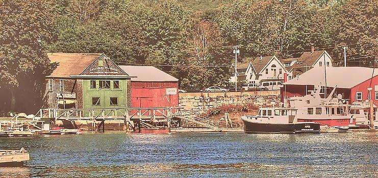 Frank SantAgata - Maine Fishing Village