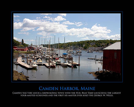 Maine Harbour by Jim McDonald Photography