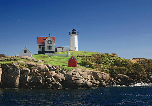 Maine Lighthouse  by Dulce Levitz