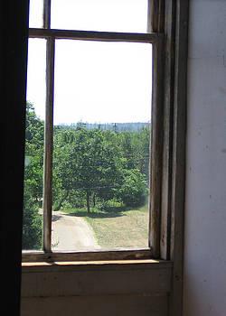 Maine Window II by J R Baldini M Photog Cr