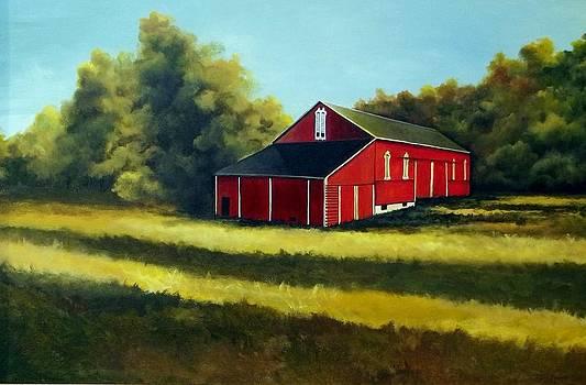 Majestic Barn by Terri Meyer