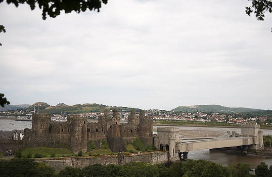 Majestic Conwy castle. by Christopher Rowlands