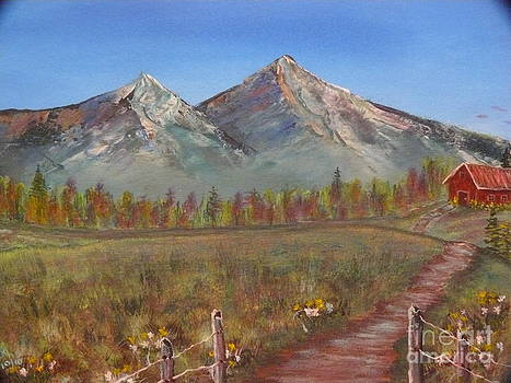 Majestic Mountains by Jody Curran