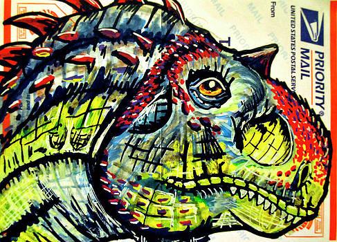 Majungatholus by Josean Rivera