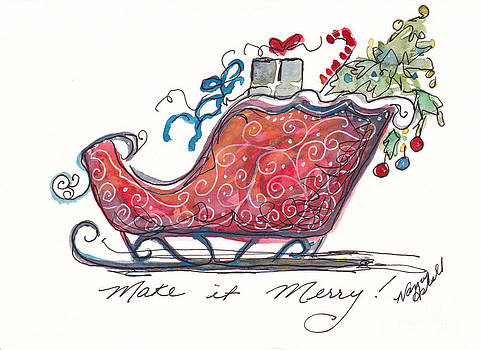 Make It Merry by Michele Hollister - for Nancy Asbell
