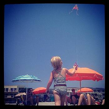 Makena's First Kite! by Dustin K Ryan