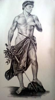 Male Nude by Asif Kasi