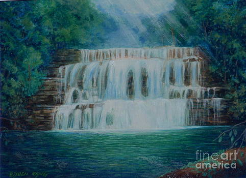 Maliau Basin Waterfall Sabah Borneo by Edoen Kang
