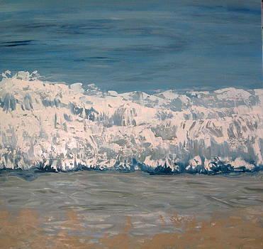 Malibu California Surf by Valentine Estabrook