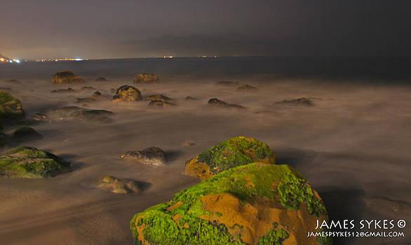 Malibu Rocks by James Sykes