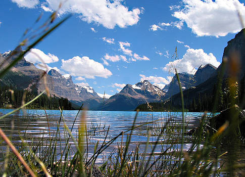 Maligne Lake by Joe Schofield