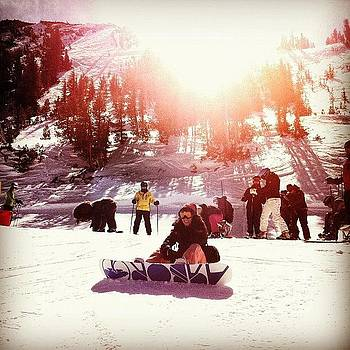 #mammoth #mountain #snow #sun by David Leandro