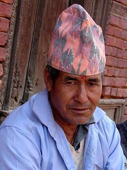 Anand Swaroop Manchiraju - MAN WITH CAP