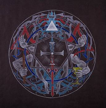 Mandala by Dan Moran