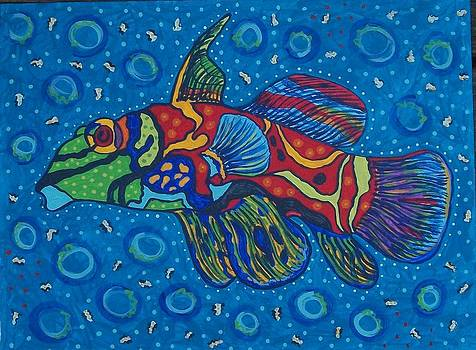 Mandarin Fish by Debbie Talman