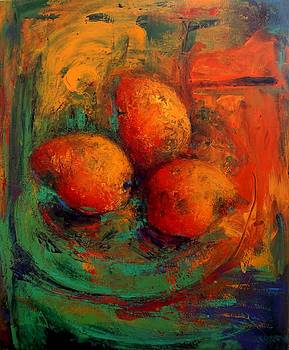 Mangoes  by Marina R Burch