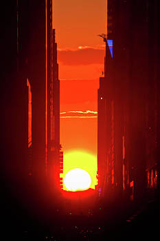 Manhattan Henge by Archana Doddi