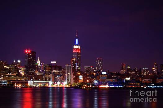 Manhattan Skyline by Archana Doddi