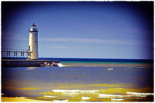 Manistee Lighthouse by Timothy J Berndt