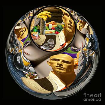 ManOKin Sphere by Bruce Wood