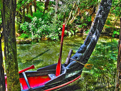Maori Canoe by Joanne Kocwin