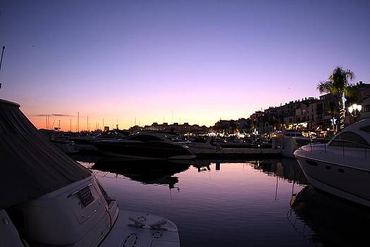 Marbella sunset by Shiladitya Sinha