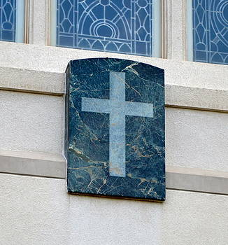 Marble Cross by Kathy Lewis