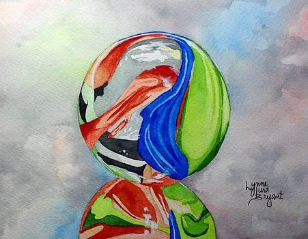 Marble Reflection by Lynne Hurd Bryant
