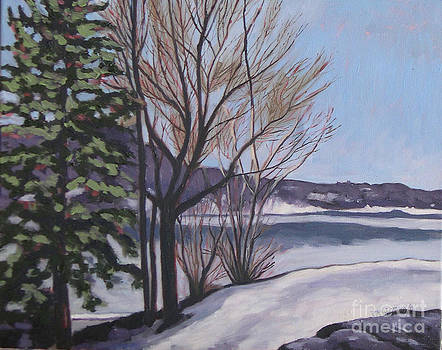 March at Deerhurst by Joan McGivney