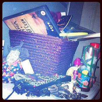 #marchphotoaday #day4 #bedside It's by Orla O'Neill