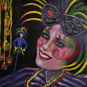 Terry Sita - Mardi Gras Masker #2