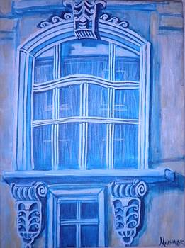Marie's Window  by Natasha  Malpeli