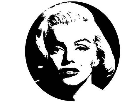 Marilyn Monroe circle by Tim Towler