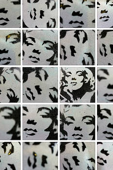 Marilyn Monroe Collage by Siobhan Bevans